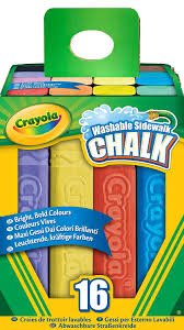 Crayola Washable Large Sidewalk Chalk: Amazon.co.uk: Toys & Games