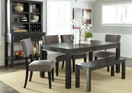 Full Size Of Gray Dining Table With Bench Black Back Set Next Home Design As Storage