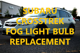 fog light bulb replacement on a subaru tangent 01