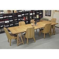 grande table à manger en bois de chêne patiné votre chez vous