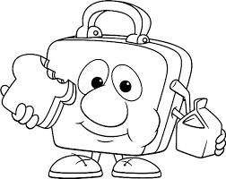 Lunch Box Drawing At GetDrawings