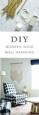 Bed Decor Above Decorating Idea 143 Wall Interior Compact We Love The Of Adding This Diy Modern Gold Hanging To Any Room