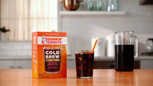 Pumpkin Iced Coffee Dunkin Donuts 2017 by What U0027s New Cold Brew Coffee Packs Dunkin U0027 Donuts Coffee