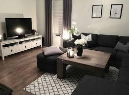 elegantes wohnzimmer der dunklen möbel wohnzimmer ideen