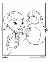 Doc Mcstuffins Printable Coloring Pages 16 McStuffins Plus She Is A Great Role