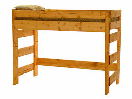 Woodcrest Bunk Beds by Wrangler Twin Over Twin Bunk Bed Cinnamon Finish Hom Furniture