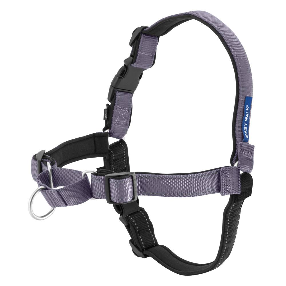 PetSafe Deluxe EasyWalk Dog Harness - Large, Steel Gray