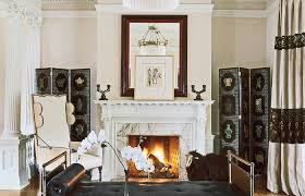 Colonial Home Interior Designs Fireplaces Bathroom Design Medium Size Kitchen Spanish Historic Modern