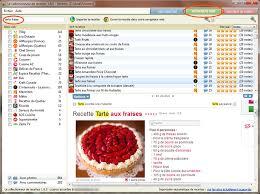 logiciel le collectionneur de recettes outil de recherche web
