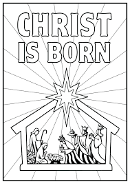 Adult Coloring Pages Nativity Free Page Colouring Sheets Printable Christmas Story Scene Full Size