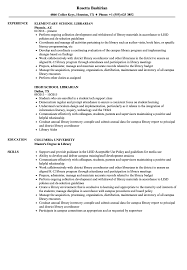 School Librarian Resume Samples | Velvet Jobs Librarian Resume Sample Complete Guide 20 Examples Library Assistant Samples And Templates Visualcv For Public Review Quinlisk Hiring Librarians 7 Library Assistant Resume Self Introduce Specialist Velvet Jobs Clerk Introduction Example Cover Letter Open Cover Letters Letter Genius Resumelibrary On Twitter Were Back From This Years Format Floatingcityorg Information Security Analyst And