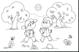 Printable Disney Coloring Pages Pdf Fall Leaves Kids Educational Grade Free Autumn For Adults Full