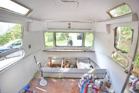 100 Inside An Airstream Trailer Painting The Interior Of A Vintage Mavis The