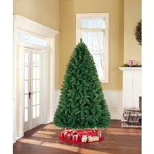 Popular Artificial Silver Tip Christmas Tree by Artificial Christmas Tree Unlit 7 5 U0027 Donner Fir Walmart Com