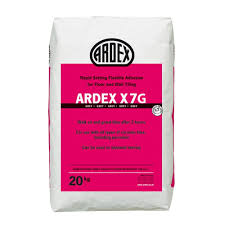 Mapei Porcelain Tile Mortar Msds by Ardex X7 Tile Adhesive Wall And Floor 20kg Grey