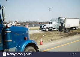 Semi Truck Accident Stock Photos & Semi Truck Accident Stock Images ...