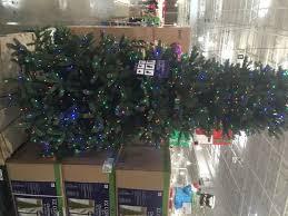 Pre Lit LED EZ Connect Dual Color Christmas Tree Costco Item
