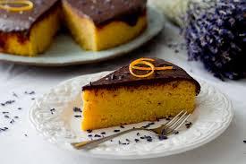 orangenkuchen mit lavendel