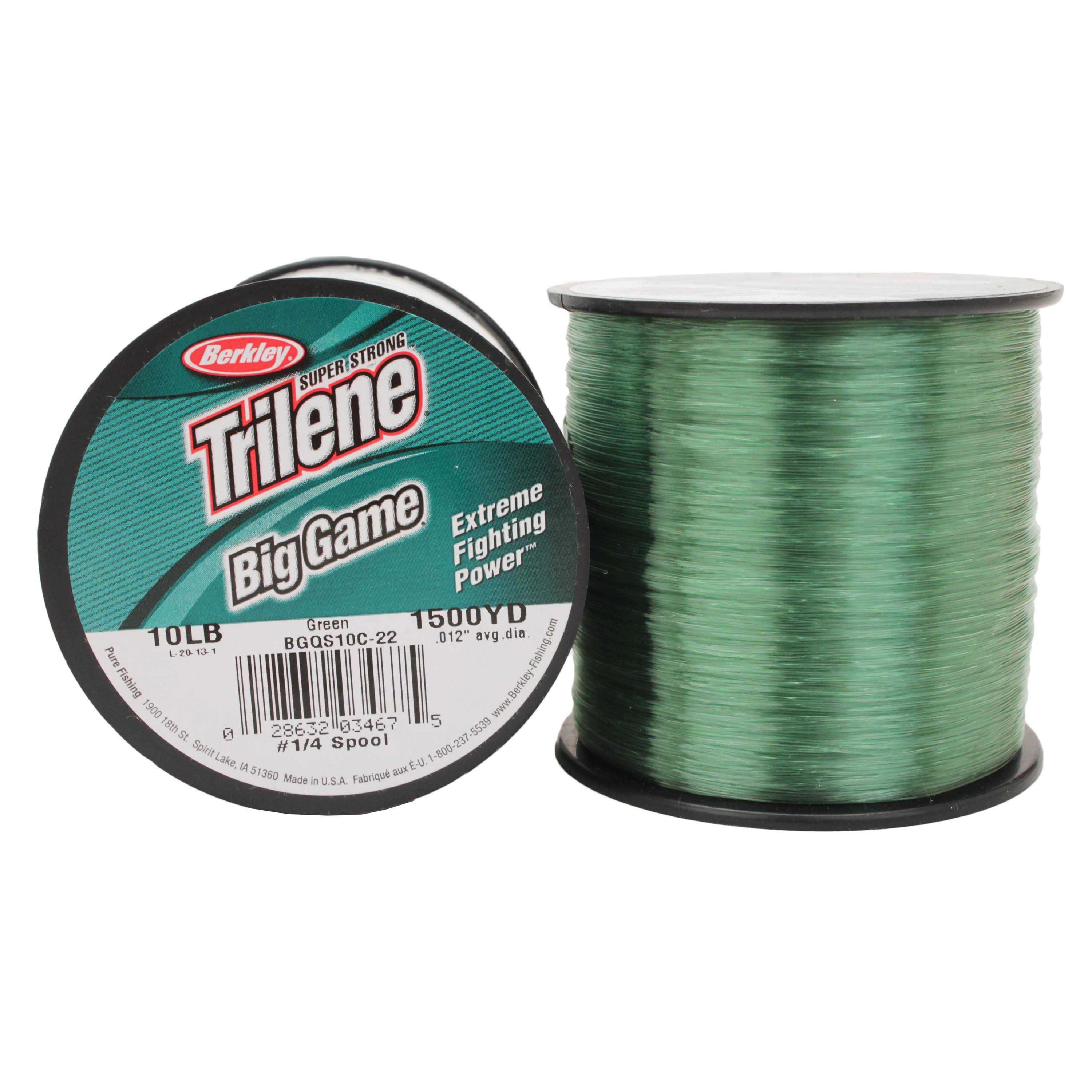Berkley Trilene Big Game Monofilament Custom Spool - Green, 1500yds