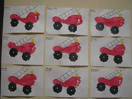 Firetruck Footprints By D4 | Handprints And Footprints, Oh My ... Blaze Fire Truck Tissue Box Craft Nickelodeon Parents Crafts For Boys A Firetruck Out Of An Egg Carton The Oster Trucks Truck Craft And Crafts Footprints By D4 Handprints Oh My 1943 Fordamerican Lafrance National Wwii Museum Vehicle Kit Kids Birthday Party Favor Mrs Jacksons Class Website Blog Safety Week October 713 Articles With Engine Bed Sheets Tag Fire Engine Bed Tube Toys Toy Packaging Design Childrens Tractor Jennuine Rook No 17 Vintage Cake Project