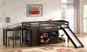 mulberry boys u0026 girls cabin loft beds with slide desk u0026 storage