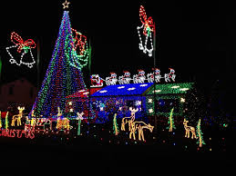 Best Halloween Attractions In Nj by The Best Free Christmas Lights In Nj