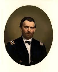 Major General Ulysses S Grant In Uniform
