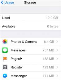 How to fix run out of storage on iPhone