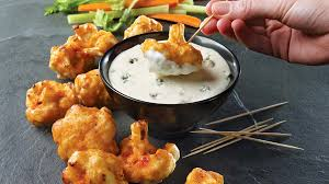 cuisiner le choux fleur chou fleur buffalo et sauce au bleu recettes iga miel fromage