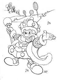 Candy Land Color Pages King