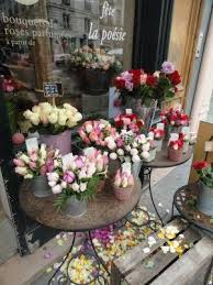 Entry To French Flower Shop