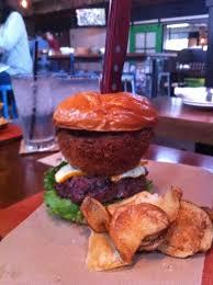 Whiskey Cake Kitchen & Bar Plano Texas The OMG Burger A bit