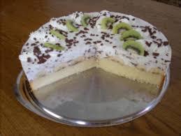 kiwi bananen torte mit buttermilch