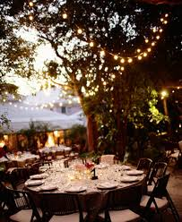 Beautiful Outside Wedding Lighting Ideas Outdoor Indywebco