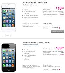 T Mobile s iPhone 5 Now Available For Sale iPhone 4 4S Too