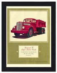 Mobile - VP-FRAME-14127-06 - Diamond T Trucks 1930s, Art Deco ...