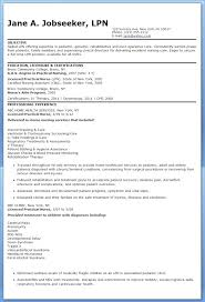 Nursing Resume Objective Good Samples For Nurses Career Examples