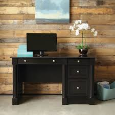 Sauder Shoal Creek Desk Jamocha Wood by Sauder Desks