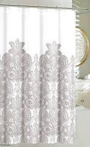 caro home 100 cotton shower curtain ornate medallion fabric