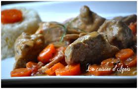 cuisiner un sauté de porc sauté de porc aux carottes des sables la cuisine d agnèsla cuisine
