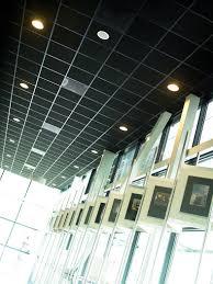 rockfon industrial black opal 56cg nevill interior