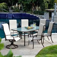 Kirklands Outdoor Patio Furniture by Patio Ideas Round White Patio Table With Umbrella Hole Kirkland
