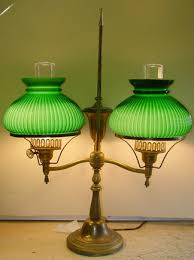 Green Bankers Lamp Shade Replacement by Antique Lamp Parts