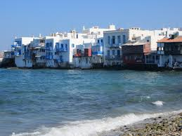 Cruise Ship Sinking Santorini by Mykonos Town The Curse Of The Cruise Ships And Shirley Valentine
