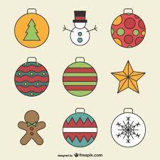 Christmas Ornaments Drawings Thumb