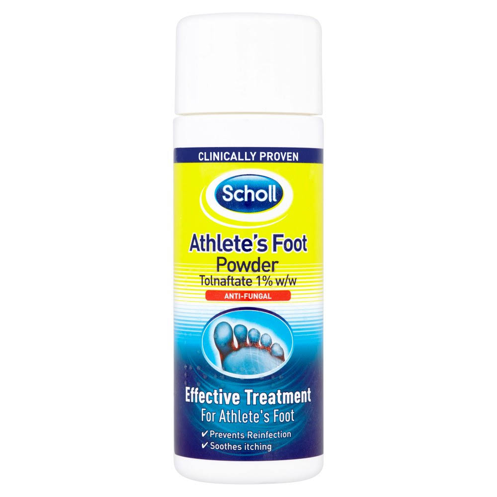 Scholl Athletes Foot Care Powder - 75g