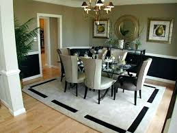 Dining Room Area Rug Size Under Table New Rugs Inspiring