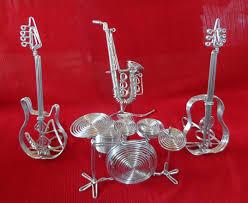 Ceramic Christmas Tree Bulbs Amazon by Amazon Com Metal Wire Gift Art Handmade Guitar Electric Music