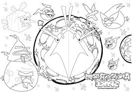Easy Free Angry Birds Space Coloring Pages For Pic Author 484780 2015