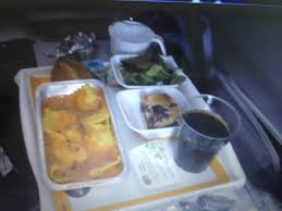 Inside Lufthansa Airbus A 380 Economy Class Food & Beverages
